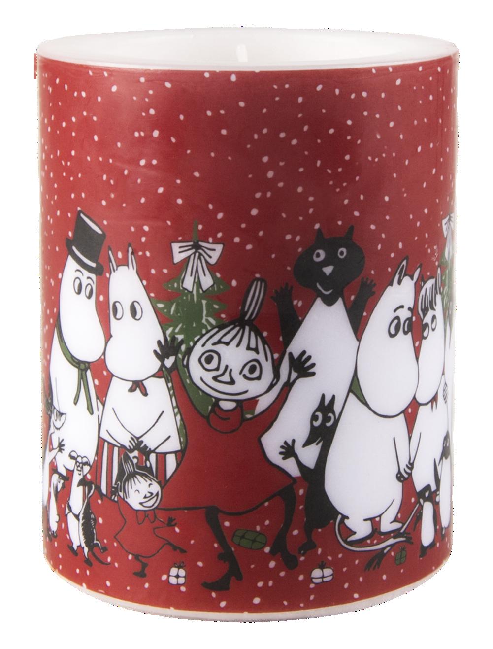 Muurla Moomin Winter Magic candle 12cm