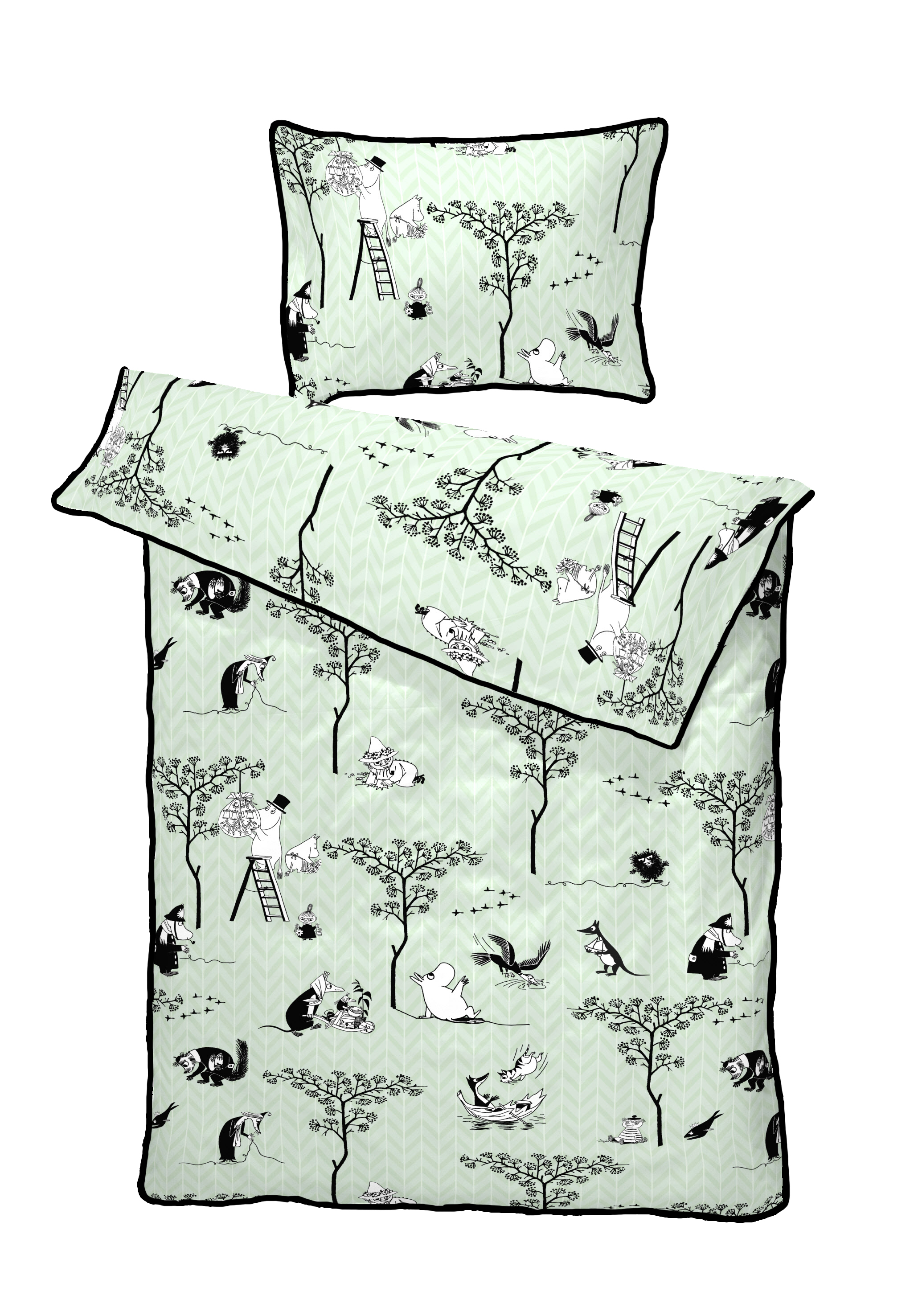 Turiform Moomin Treasure hunt bed set (not available in Finland)