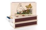 Isoisän Puulelut Moomin Matchbox Moomin&Snufkin