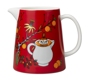 by Arabia Moomin Pitcher Little My