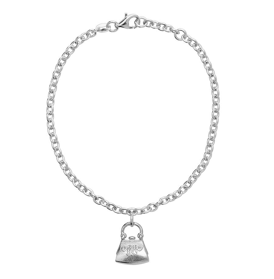 Saurum Moominmamma's Handbag silver bracelet