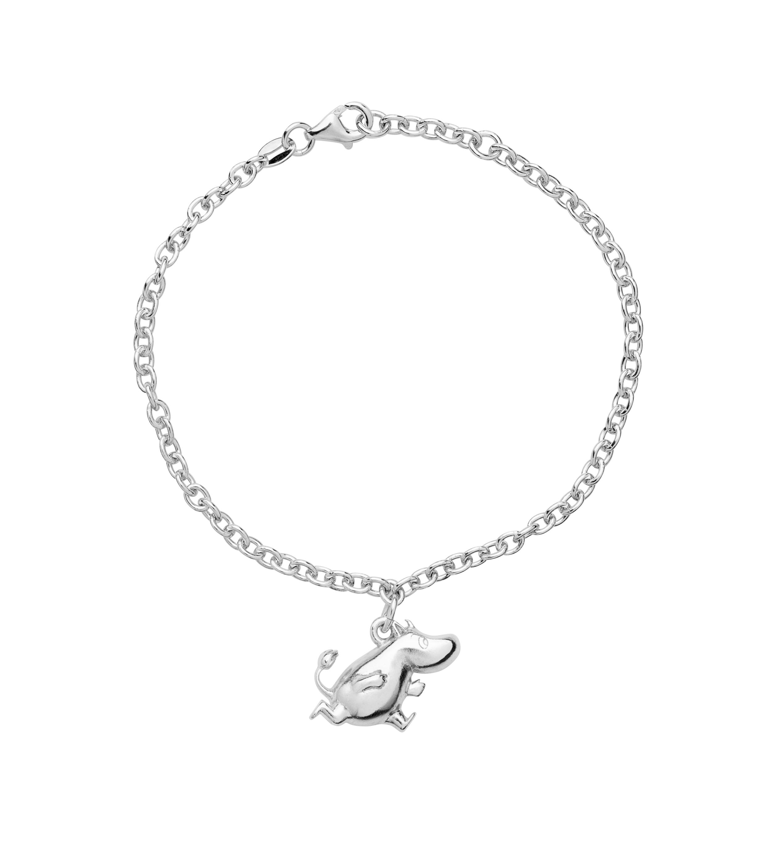 Saurum Moomintroll silver bracelet