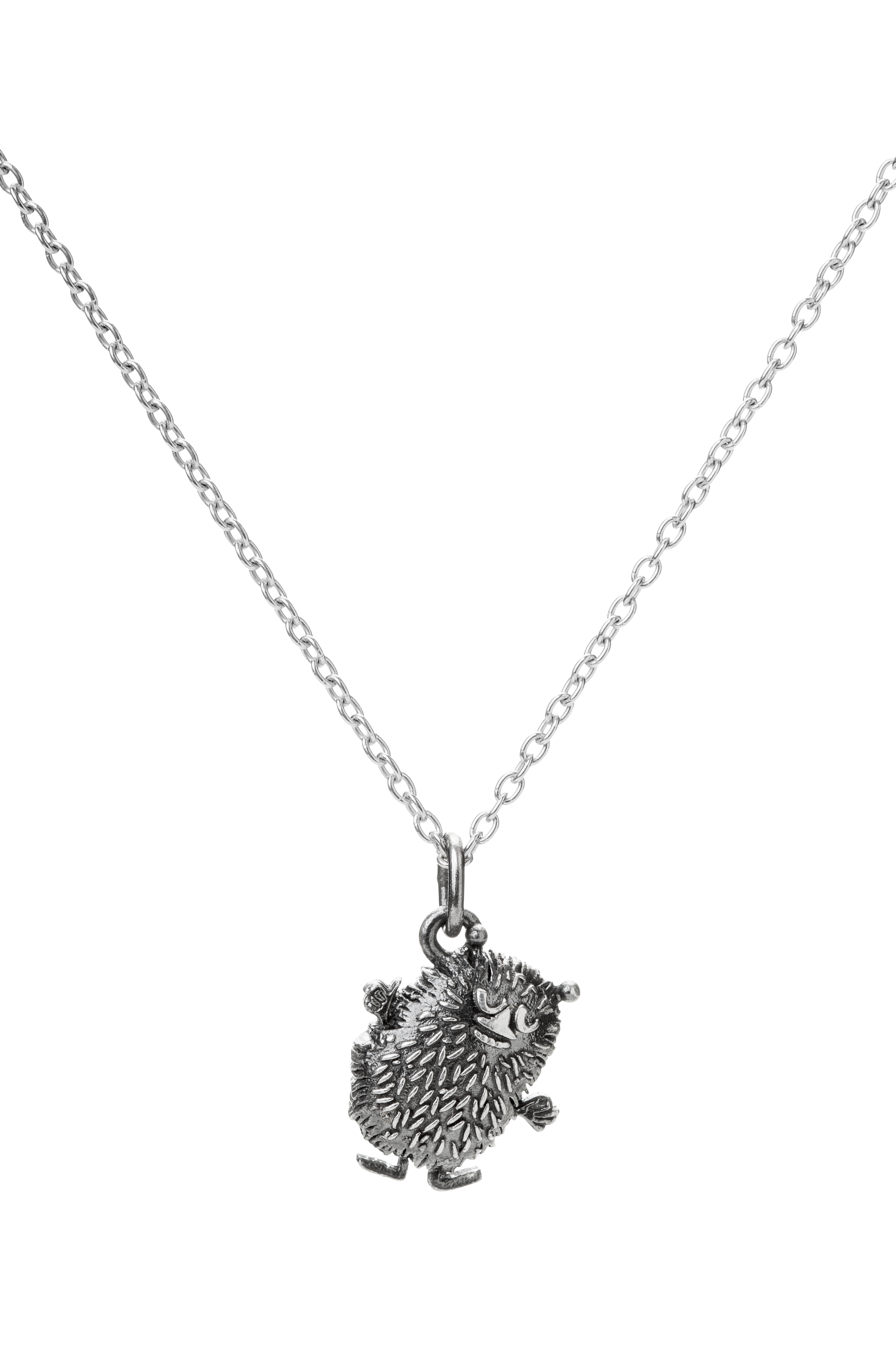 Saurum Stinky silver pendant