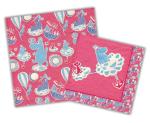 Karto Napkins Moomin pink
