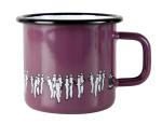 Muurla enamel mug 3,7dl for Moominshop Finland, violet