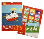 Lamberth - Moomin Family Calendar 2016