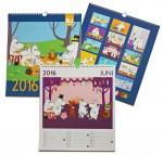 Lamberth - Moomin Calendar 2016