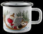 Muurla Enamel mug 3,7dl Lovely nap