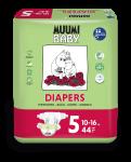 Delipap Muumi Baby Open Diapers, Maxi +