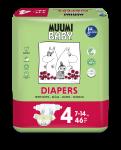 Delipap Muumi Baby Open Diapers, Maxi