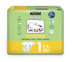Delipap Muumi Baby Open Diapers, New Born
