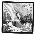 Lasessor Sukellus handkerchief b/w