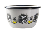 Muurla enamel bowl 3dl Friends Stinky