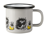 Muurla enamel mug 1,5dl Friends, Stinky