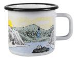 Muurla Mellow Wind enamel mug 3,7dl