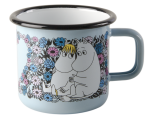 Muurla enamel mug 3,7dl Sweetheart
