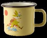 Muurla enamel mug 3,7dl Vintage Snufkin