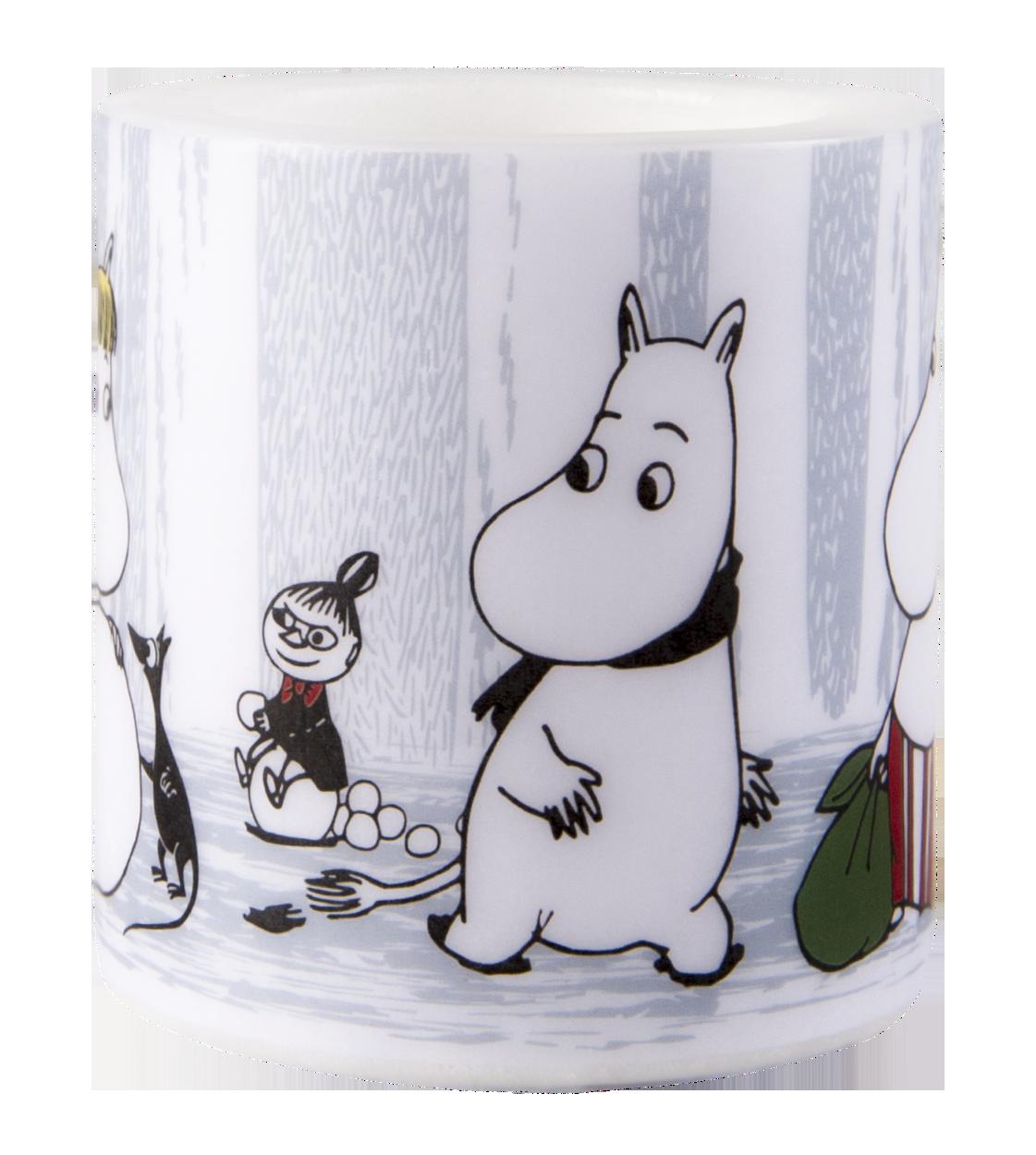 Muurla Moomin Winter Trip candle 8cm