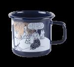 Muurla Enamel mug 3,7dl Winter Romance