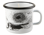 Muurla candle in 2,5dl enamel mug, Sunset