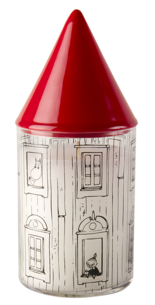 Muurla Moomin candle with extinguisher Moomin House 775-170-00 6416114952748 2