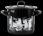 Muurla Moomins in the kitchen enamel pot 1,5L