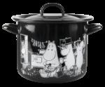 Muurla Moomins in the kitchen enamel pot 3,5L