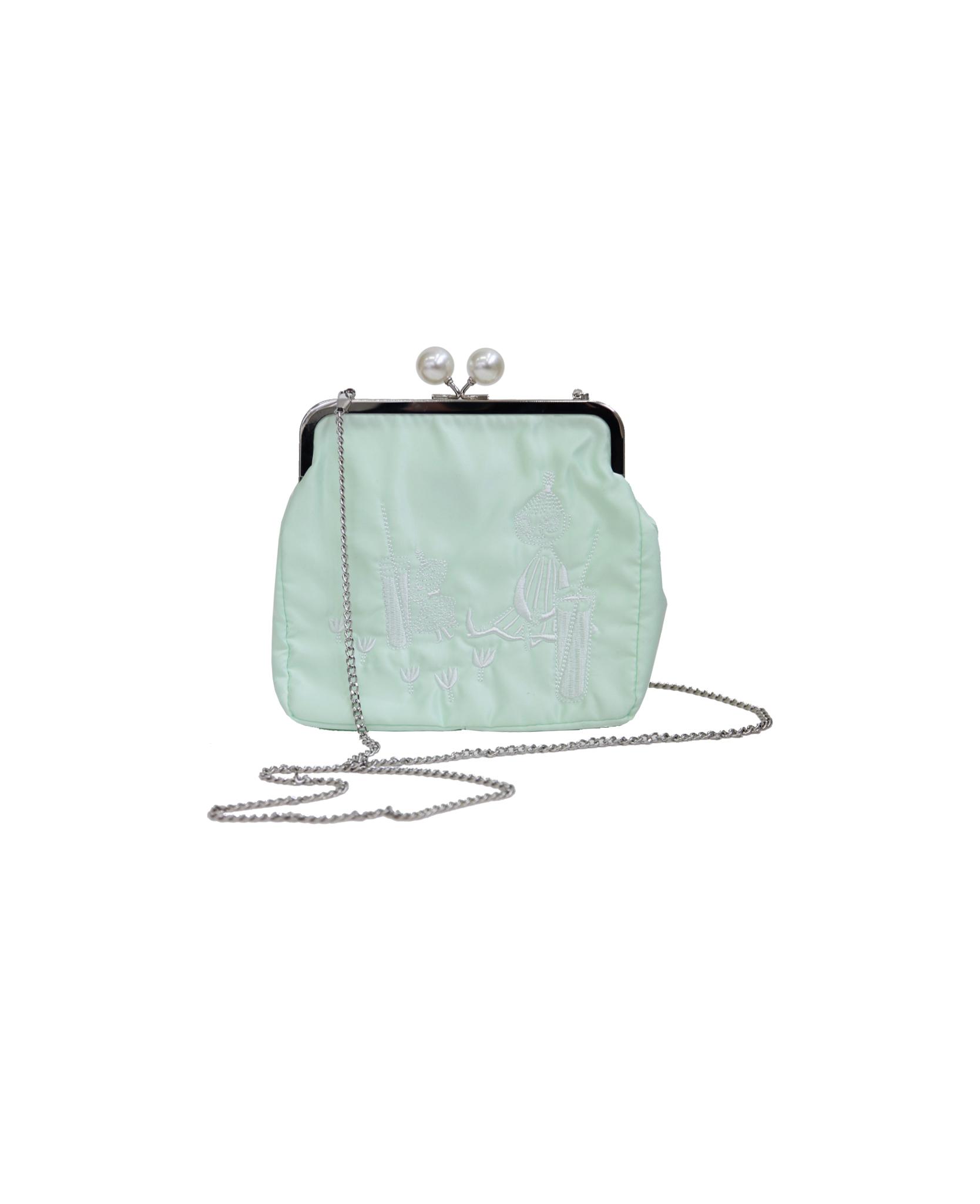 Ivana Helsinki Mymmeli purse mint L