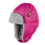 Lasessor Pikku Myy liukumäessä winter hat