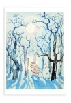 Putinki Greeting Card Moominland Midwinter