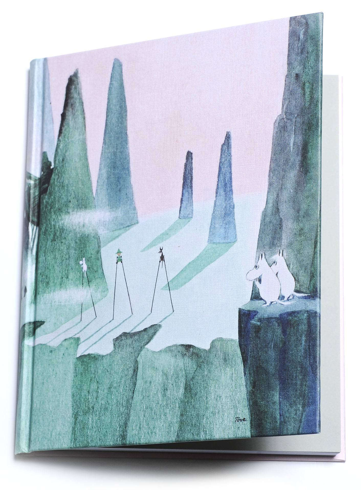 Putinki Hardcover Notebook Comet in Moominland