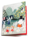 Putinki Hardcover Notebook Finn Family Moomintroll