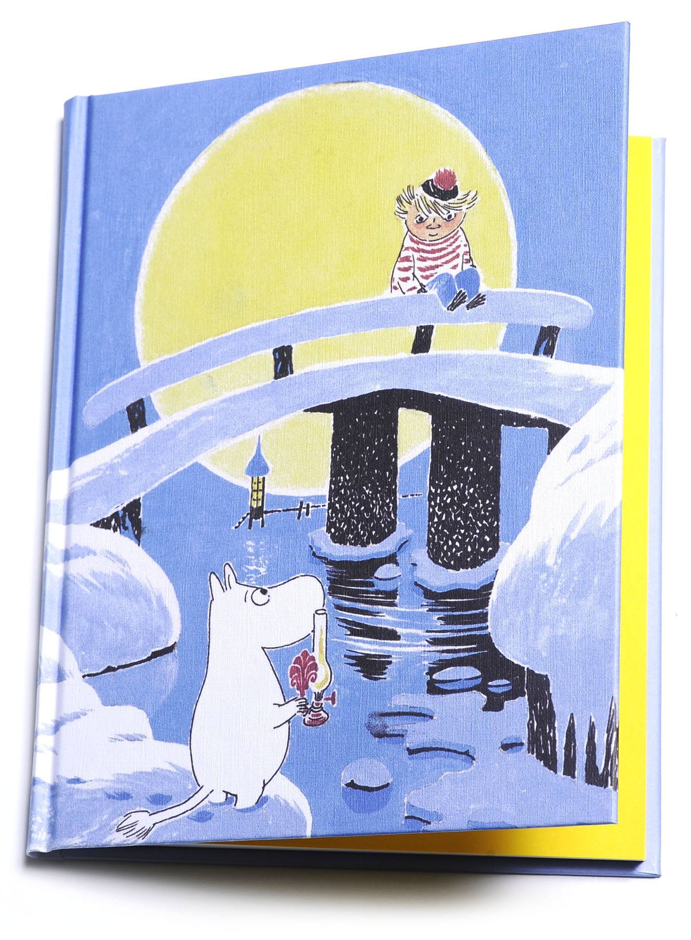 Putinki Hardcover Notebook Moominland Midwinter Bridge