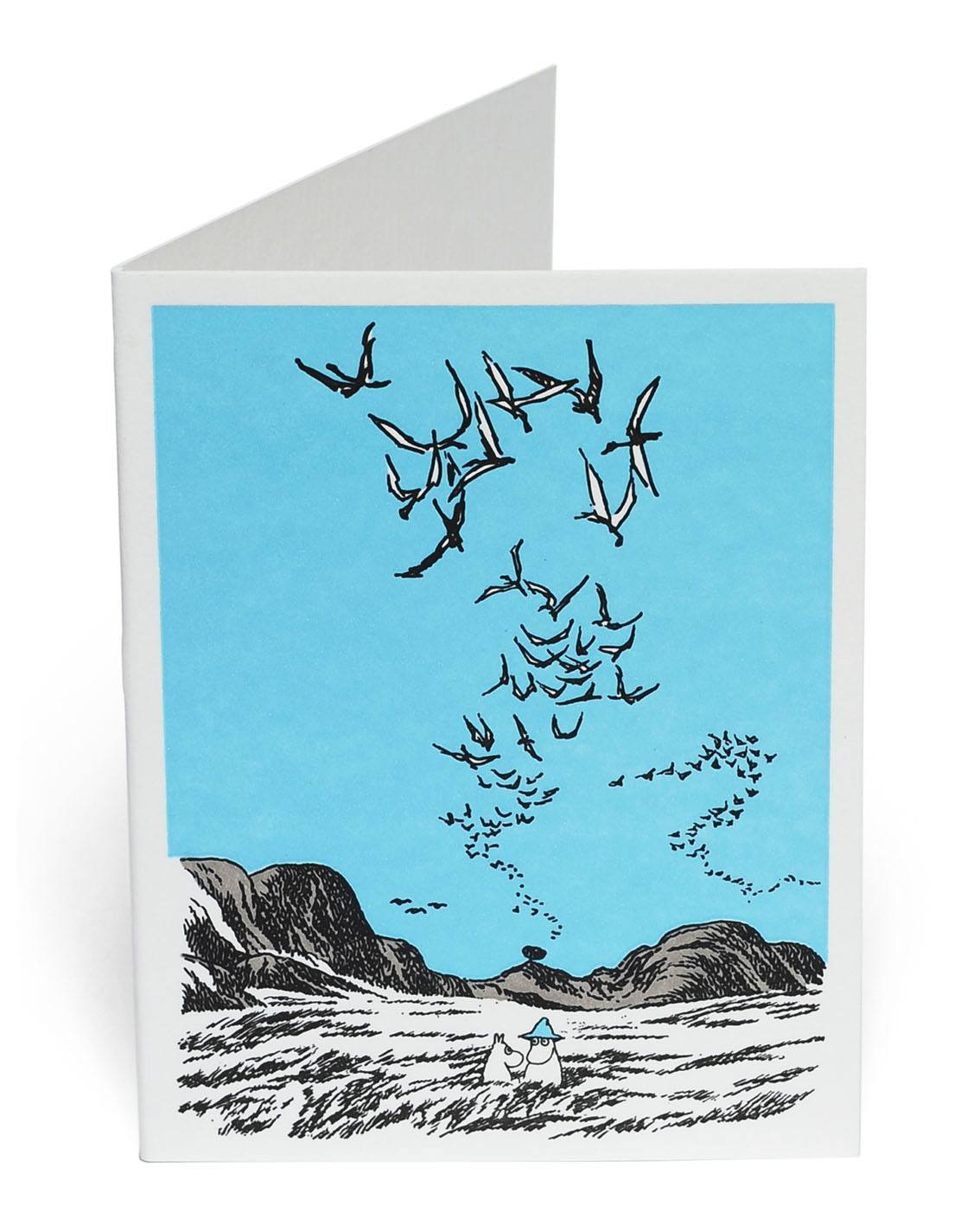 Putinki Letterpress Greeting Card Birds