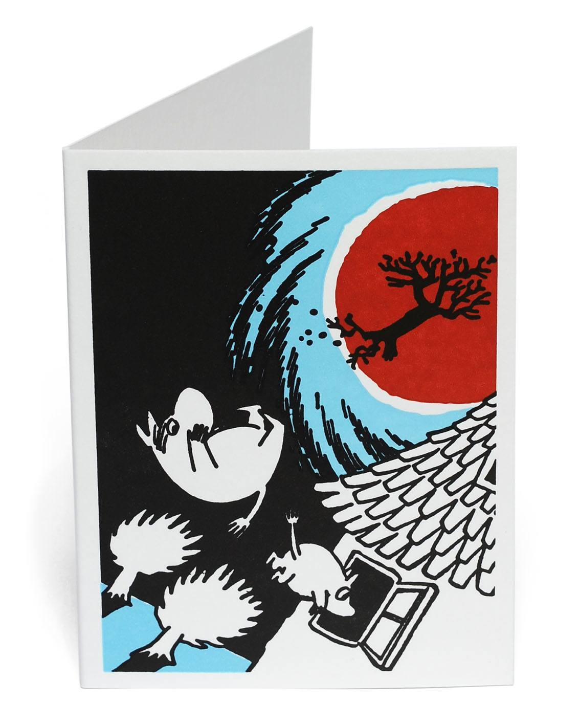 Putinki Letterpress Greeting Card Storm