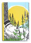 Putinki Perfect Bound Notebook Moominpappa