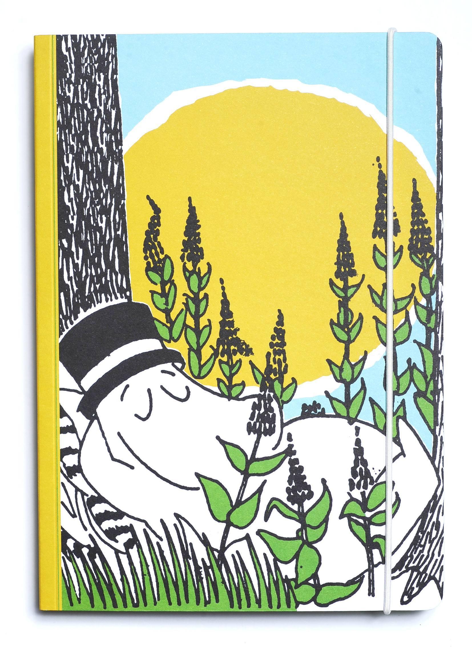 Putinki Perfect Bound Notebook Moominpappa