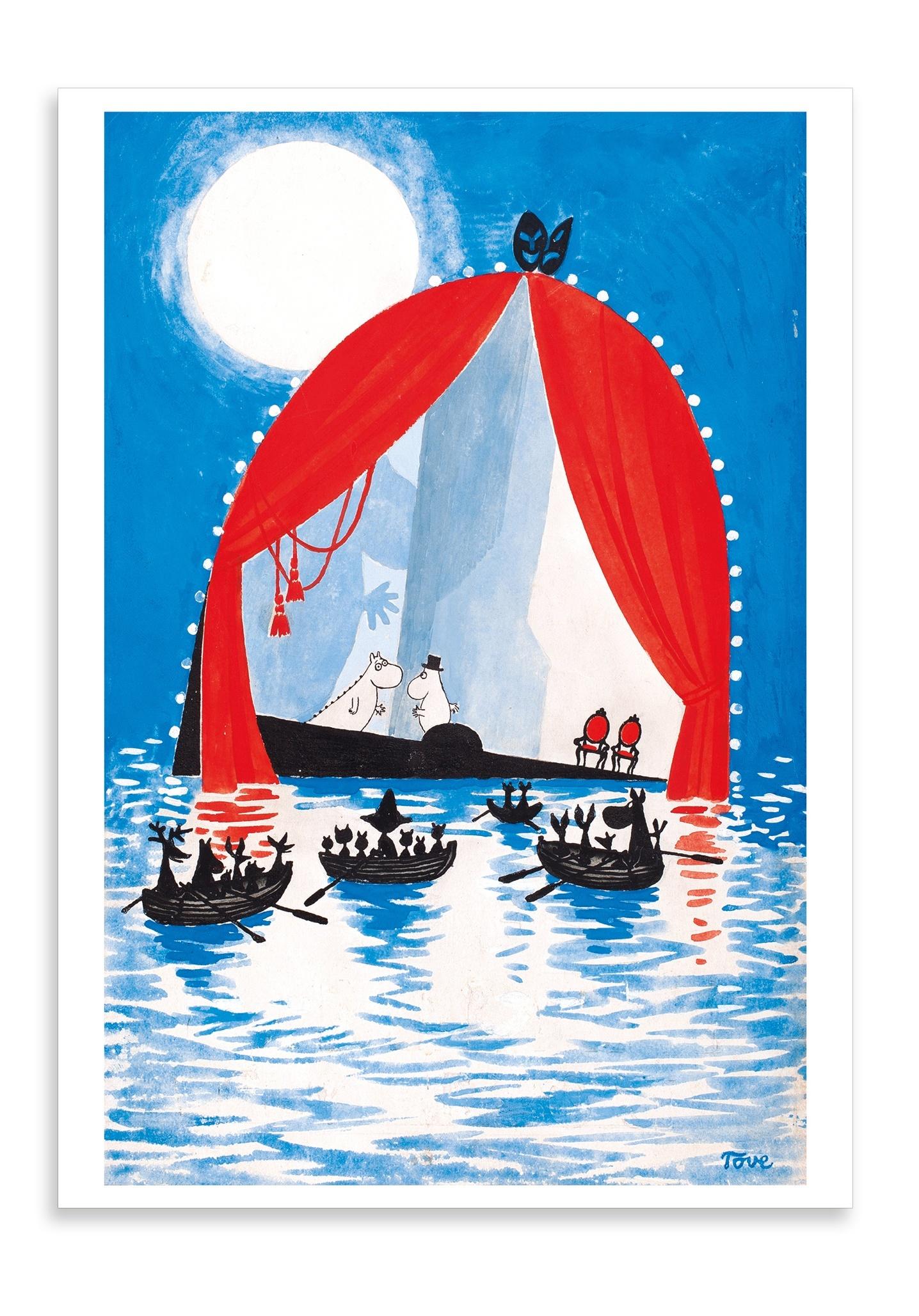 Putinki Postcard Moominsummer Madness