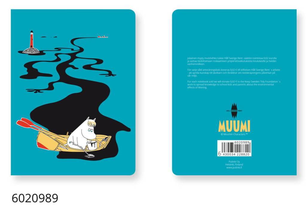 Putinki book HSR Moomin blue