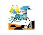 Putinki Poster Horse