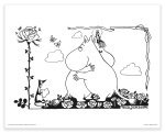 Putinki Poster Moomin And Snorkmaiden Hugging