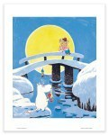Putinki Poster Moominland Midwinter Bridge
