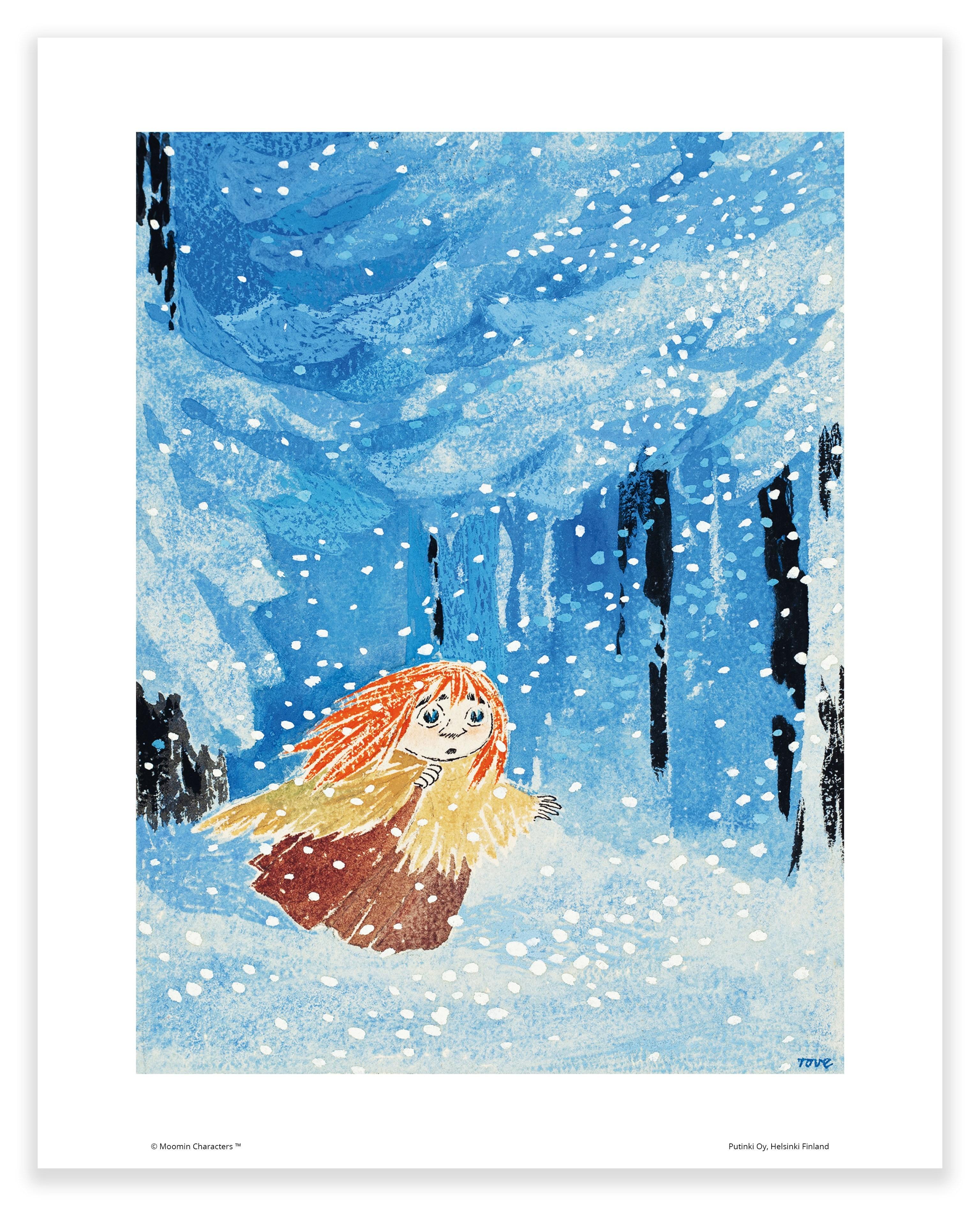 Putinki Poster Moominland Midwinter Miffle