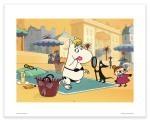 Putinki Poster Moomins on The Riviera Beach