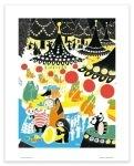 Putinki Poster Merry-go-round
