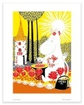 Putinki Poster Moominmamma Picking Berries