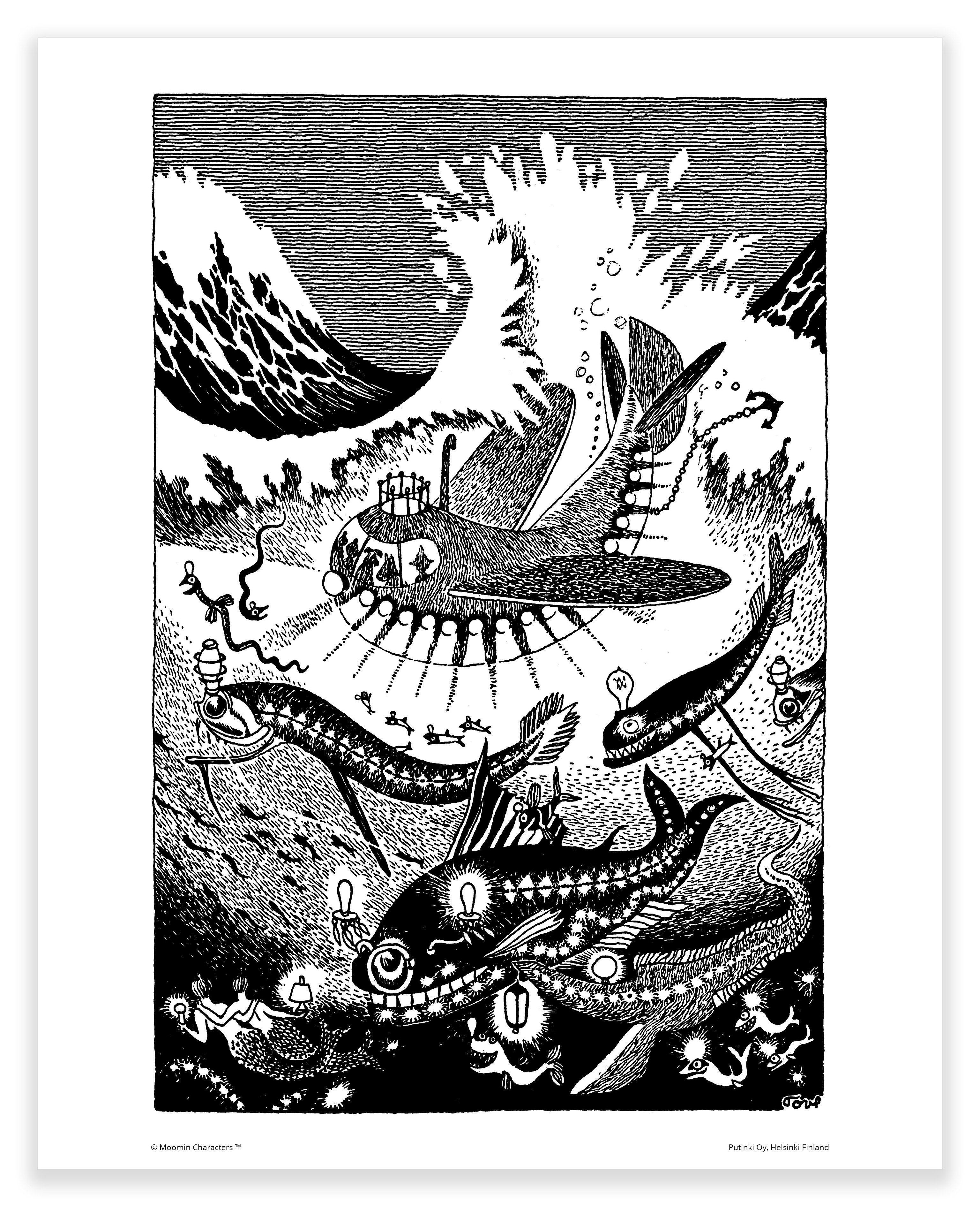 Putinki Poster Submarine