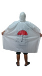 TMF Trade Emergency raincoat poncho