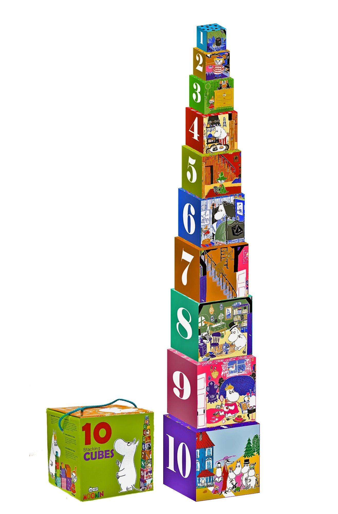 Barbo Toys stacking cubes classic
