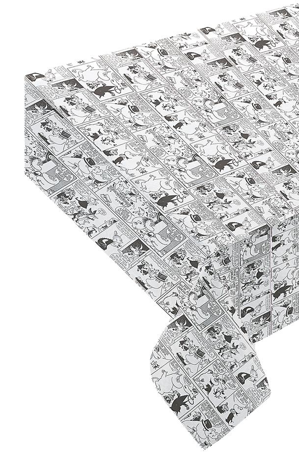 Suomen Kerta Oy Comic Moomin tablecloth